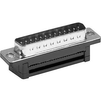 Provertha D-SUB pin strip 180 ° Number of pins: 9 Cut & Clip 1 pc(s)