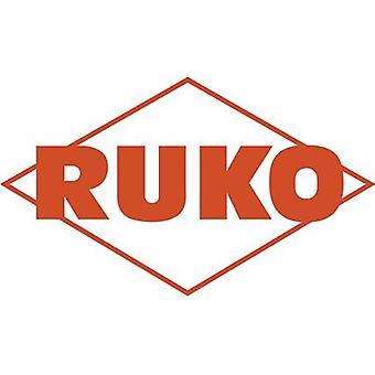 RUKO 206110 HSS Metal twist drill bit 11 mm Total length 142 mm rolled DIN 338 Cylinder shank 1 pc(s)