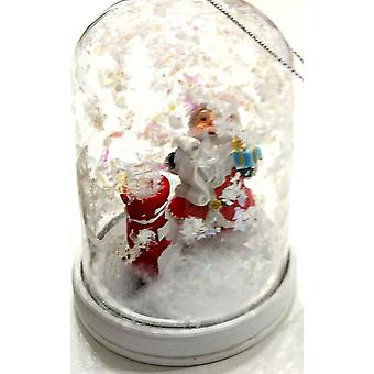 LilyPond håndverk & gaver hvelvet jul dekorasjon Santa & råsilke