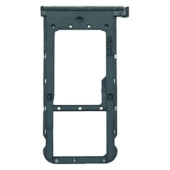 Voor Huawei P smart plus kaarten halster SIM kaart lade houder zwart slee delen nieuw