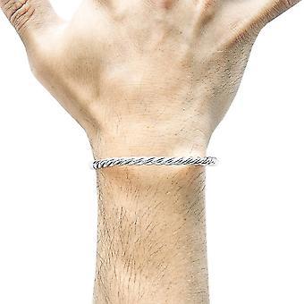 Якорь и экипажа Гаммелл полный веревку браслет - серебро