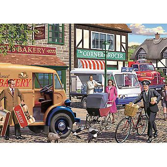 Falcon Deluxe Morning Deliveries Jigsaw Puzzle (1000 Pieces)