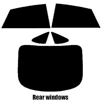 Pre cut ikkunasävy - Audi A7 4-ovinen sedan - 2010 ja uudempi - takaikkunat
