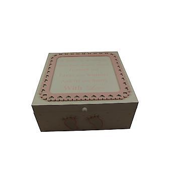 Baby Girls Memory Keepsake Box