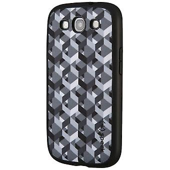 Speck Fabric-Backed Snap-on Case for Samsung Galaxy S3 - Chevron Print