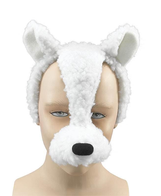 Maschera di agnello su fascia + suono.