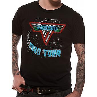 Van Halen - 1980 Tour T-Shirt Size Small
