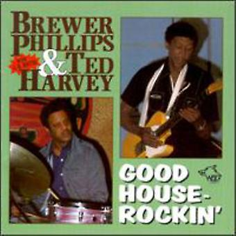 Phillips/Harvey - bra hus-Rockin ' [CD] USA import