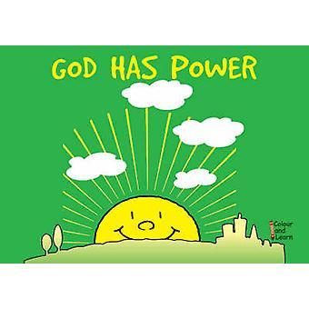 God Has Power - Colour and Learn by MacKenzie Catherine - Carine Macke