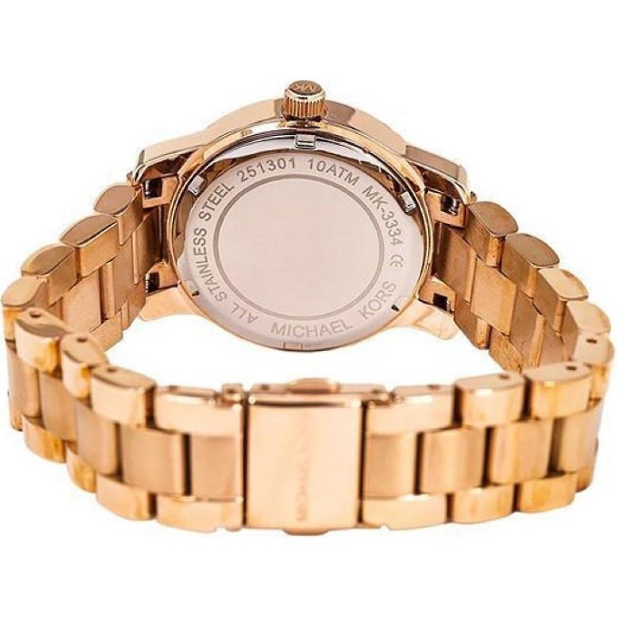 Michael Kors Mk3334 Mini Runway Ladies Watch