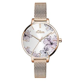s. Oliver Analog quartz ladies with stainless steel strap SO-3524-MQ