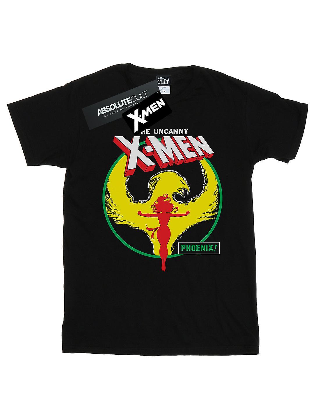 Marvel Women's X-Men Phoenix Circle Boyfriend Fit T-Shirt