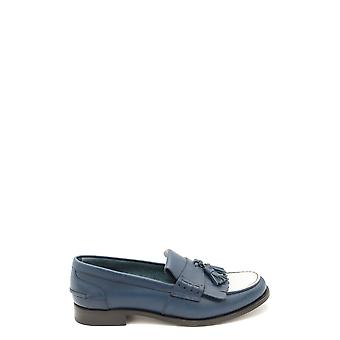 Church's Ezbc004058 Women's Blue Leather Loafers