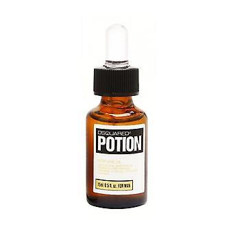 Potion av Dsquared2 parfyme olje For menn 0,5 oz/15 ml Splash ny i boks