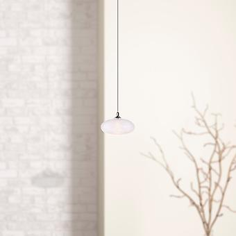 Brillcool Luna Small Nickel Single Pendant  Round Canopy