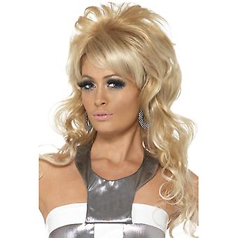 60's beauty queen wig, blonde