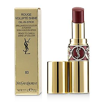 Yves Saint Laurent Rouge Volupte Shine - # 83 Rouge Cape - 3.2g/0.11oz