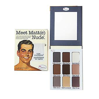 The Balm Meet Matt(e) Eyeshadow Palette Nude Size Matters