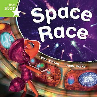 Rigby Star Independent Green Reader 3 Space Race by Celia Warren - 97