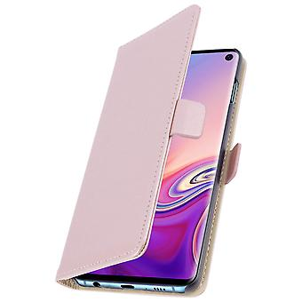 Samsung Galaxy S10e Case Wallet Stand Support DZgogo - Pink