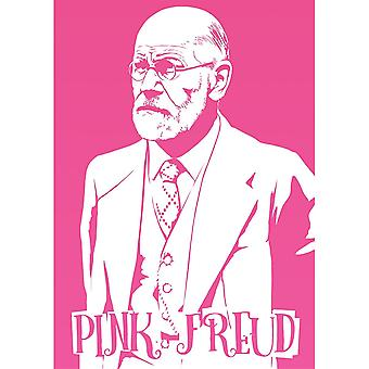 Grindstore rose Freud mini affiche