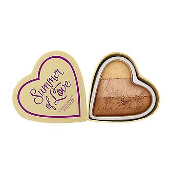 La rivoluzione del trucco Blushing Hearts Bronzer-Hot Summer of Love