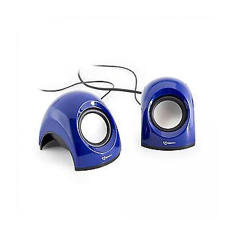 Shark SBOX USB Stereo Speaker - Blue (SP-092BL)
