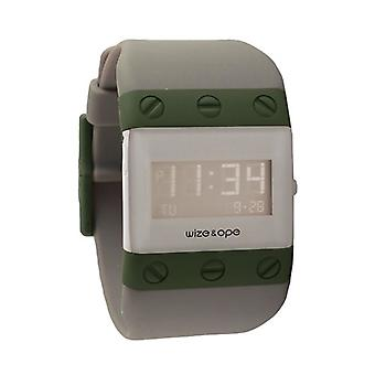 Wize and Ope Willys  Grey Digital  Watch WO-WIL-4