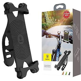 ベースス ミラクル バイシクル マウント モバイル キャリア 自転車 キャリア ブラック ユニバーサル