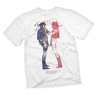 Mens T-shirt - SEDITIONARIES Punk Cowboy