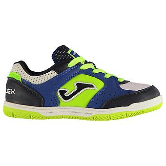 Joma Boys Top Flex 805 Royal Junior Indoor Football Trainers Kids Chaussures Sneakers