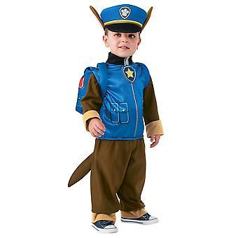 Chase småbarn och barn kostym-Paw Patrol