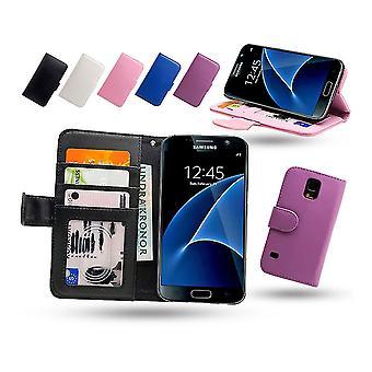Skórzany portfel/wypadku Samsung Galaxy S7 Edge