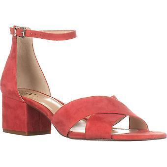 Vince Camuto Womens Florrie mocka öppen tå casual ankel rem sandaler