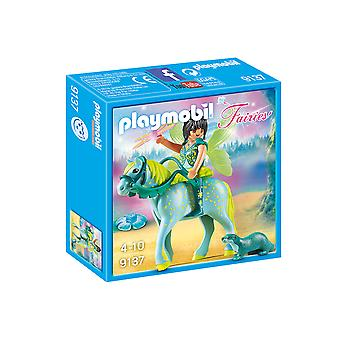 Playmobil 9137 feeën Enchanted Fairy met paard Playset