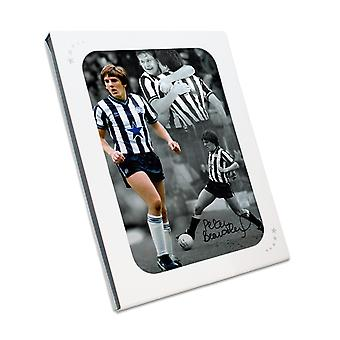 Peter Beardsley signiertes Newcastle United Photo In Geschenkbox