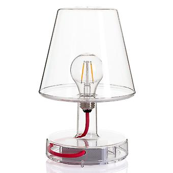 Fatboy  Transloetje LED USB Portable Table Lamp In Transparent Clear
