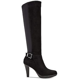 الفاني النساء Vennussf اللوز تو الركبة أحذية الأزياء الراقية