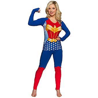Wonder Woman kostuum shirt broek vrouwen ' s slaap set