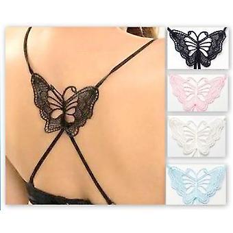 Cserélhető MELLTARTÓ szíj pillangó (lila)