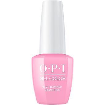 OPI GelColor Gel Color - Soak Off Gel Polish - Suzi Shops And Island Hops 15ml (GC H71)