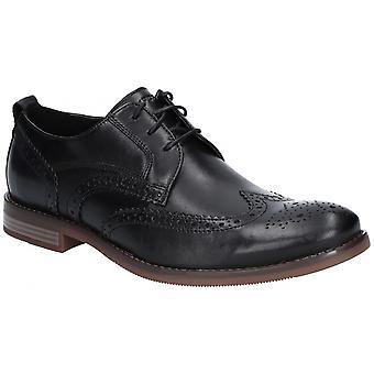 Rockport hombrewyn Wynstin Wingtip zapato de cuero