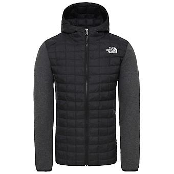 De North Face zwarte mens Thermoball Gordon Lyons hoodie