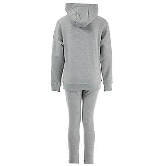 Junior Boys Bear Max Logo Tracksuit In Grey- Set Comes With Hoody And Track