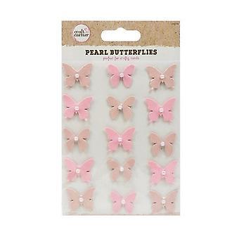 ITP Pearl Butterflies - 15 Pack - Craft