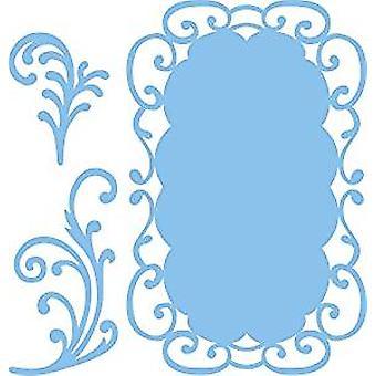 Marianne Design  Frames and Swirls Creatable Die, Blue