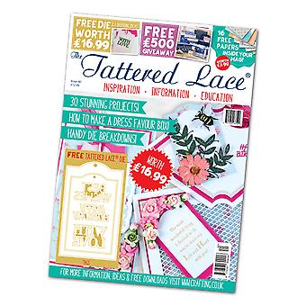 Tattered Lace Issue 40, Multi Coloured