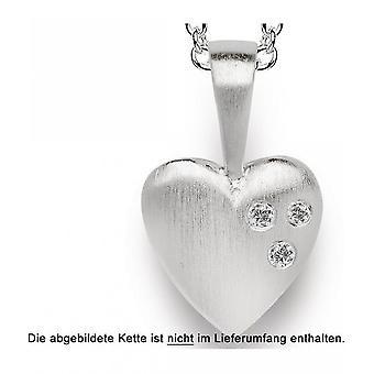 バスティアンインヴルン - ダイヤモンドのシルバーペンダント - 20560