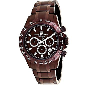 Oceanaut Men-apos;s Biarritz Brown Dial Watch - OC6116