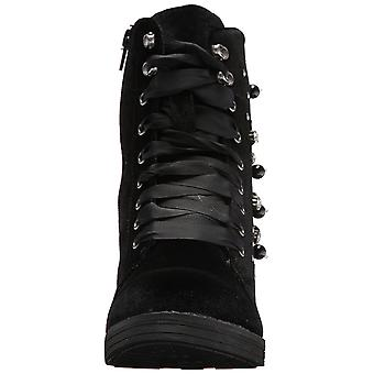 Madden Girl Womens Veera Closed Toe Ankle Combat Boots